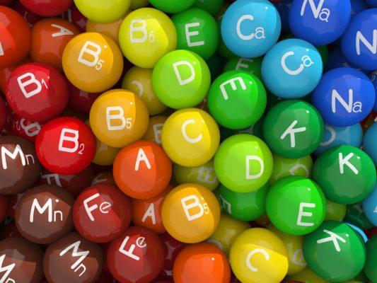 انواع ویتامین